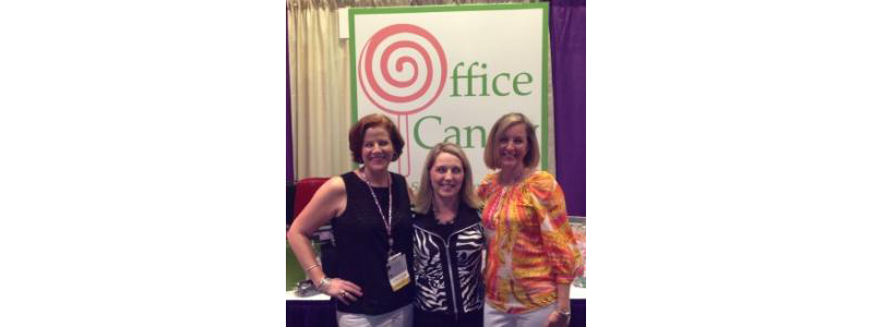 Julie Hook with friends at a NAPO (National Association of Professional Organizers) event
